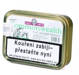 Dýmkový tabák Samuel Gawith Commonwealth Mixture 50g N